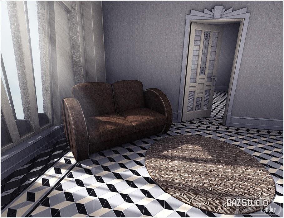 Maison Cubiste pour Classic Deco: éclectique 1