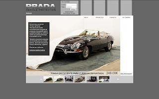 Captura de pantalla www.pradavp.com