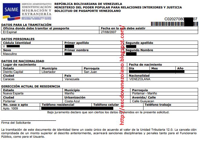 Éxodo Venezolano: Certificación del Pasaporte Venezolano