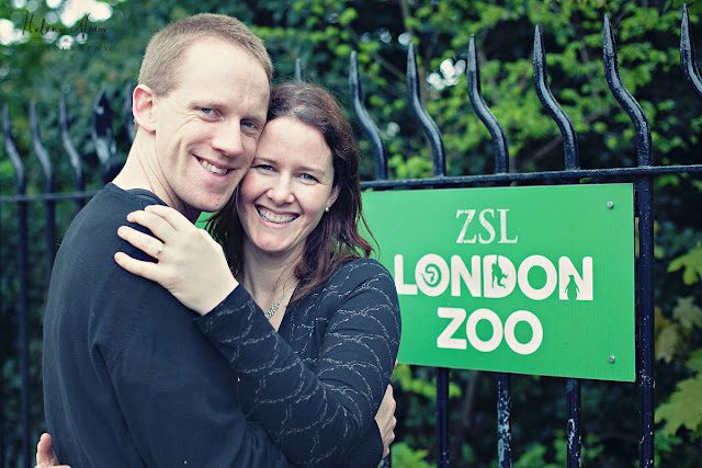 engagement photoshoot London Zooo