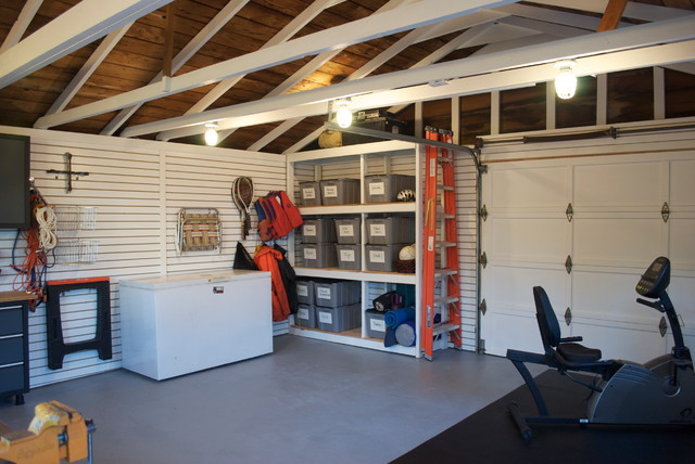 Electric garage and shed Design in Traditional Style with Minimalist Garage Shelves Furniture Design Ideas for Inspiration