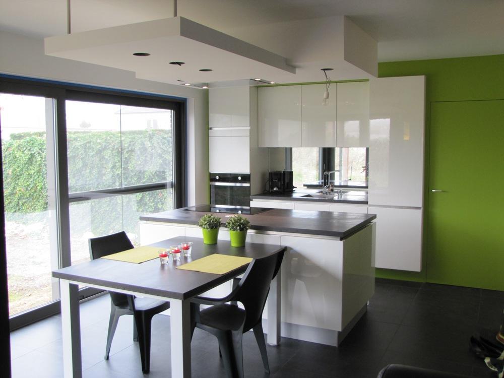 Verlaagde Plafond Keuken : De grootse plannen van Koen & Heidi…: De keuken geverfd…