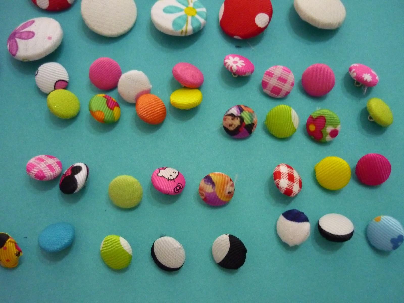 Materiales para manualidades botones para empezar tu negocio - Manualidades de botones ...