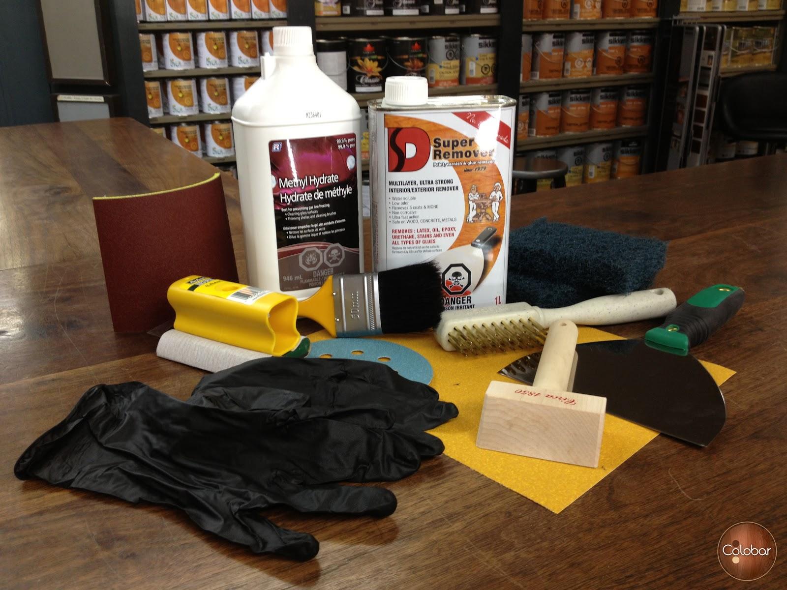 Colobar peinture et d coration comment d caper des for Decaper un meuble en bois