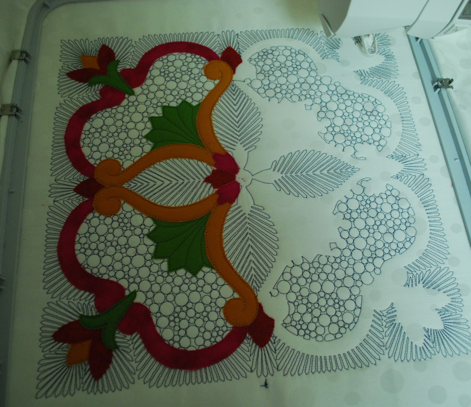 Seecherylsew husqvarna viking embroidery applique design