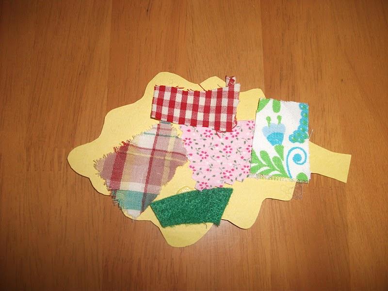 Preschool Crafts For Kids Easy Cloth Fall Leaf Craft