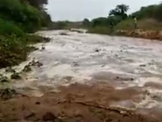 Vídeo mostra 'renascimento' de rio que estava seco há quase um ano na Paraíba; assista