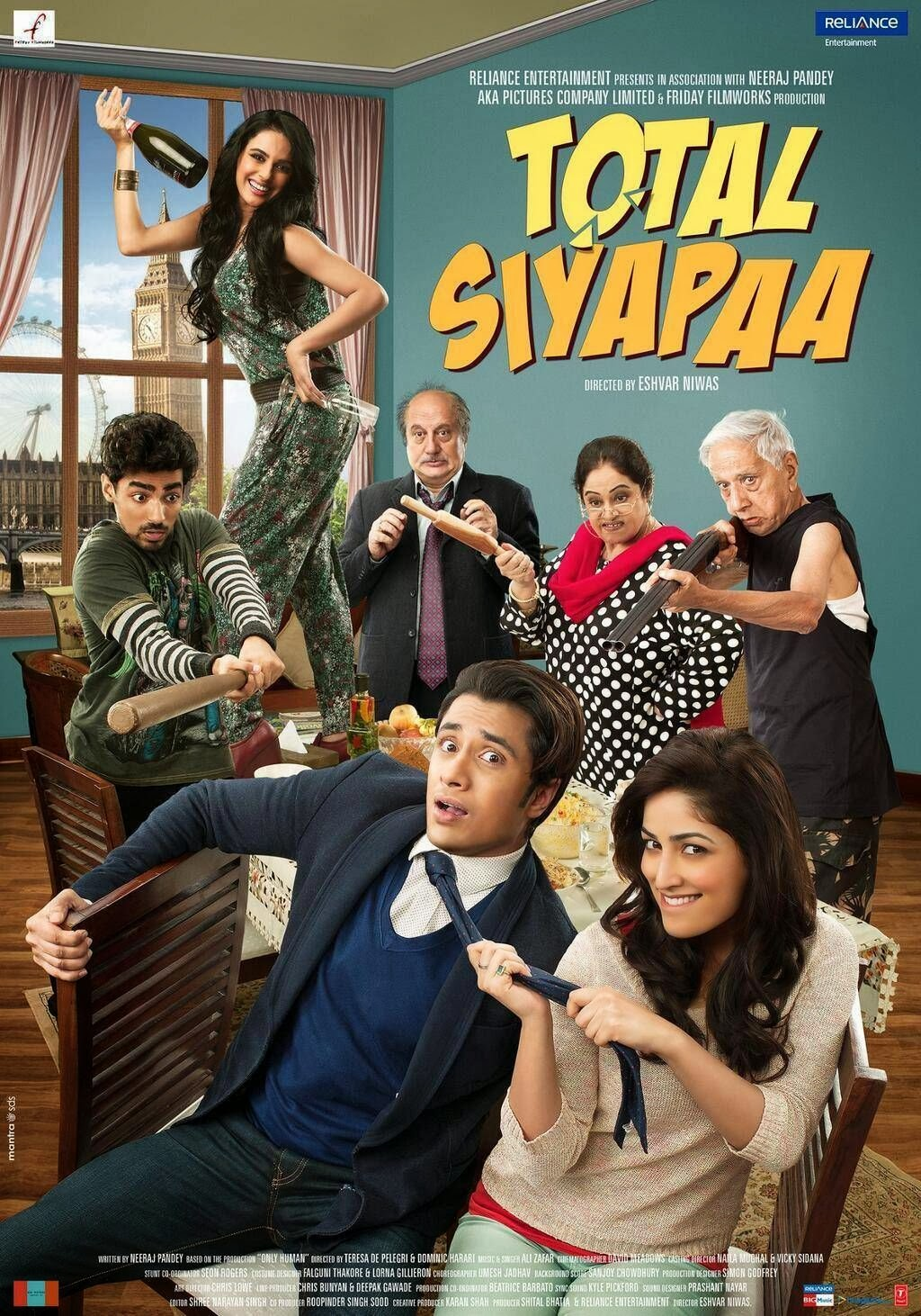 Total Siyapaa (2014) Mp3 Songs Free Download