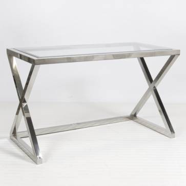 Mecox Maven X Nickel Desk