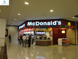 Mac Donald's do Cariri Shopping em Juazeiro do Norte.