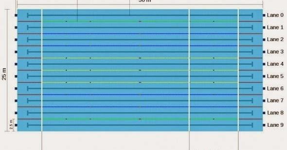 Ukuran kolam renang standar nasional internasional - Dimensioni piscina olimpionica ...