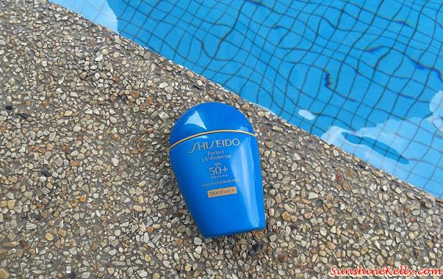 Shiseido Perfect UV Protector SPF 50+ PA++++ WetForce, Shiseido sunblock