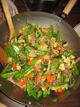 Sarah and Jeff's stir fry