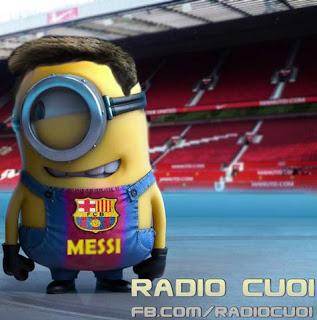 Minion Lionel Messi