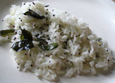 Simple Lemon and Curry Leaf Rice