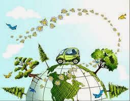 Dengan eco driving ikut  membantu lingkungan
