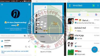 BBM Mod Fitur Terbaru Tema DroidChat v2.10.0.31 Apk
