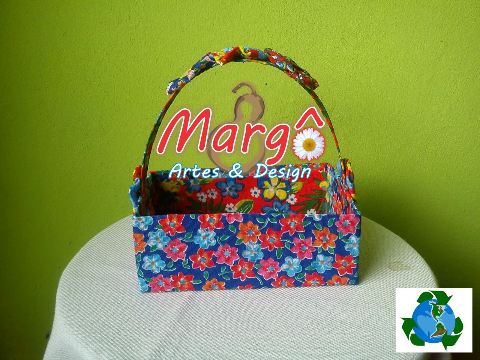 Margô Artes Cesta De Caixa De Leite