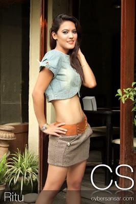 Hot Sexy Beautiful Nepali Model Ritu Hot