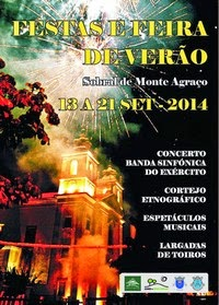 Sobral de Monte Agraço- Festas e Feira de Verão 2014- 13 a 21 Setembro
