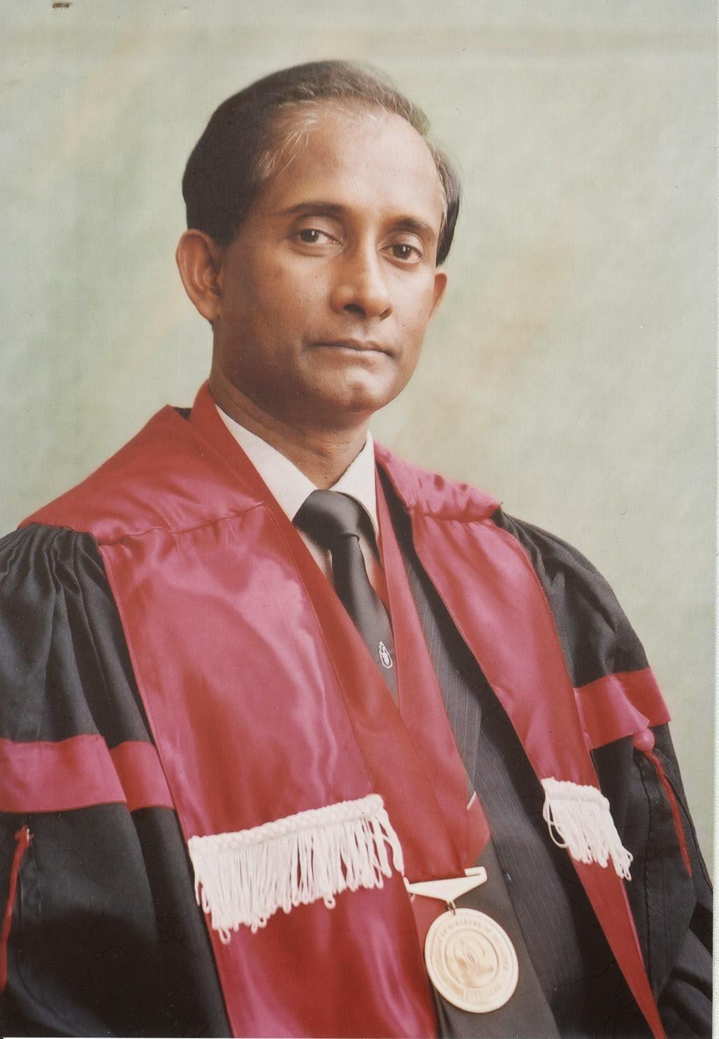 UGC Chairman Sri Lanka - Senior Professor Mohan De Silva