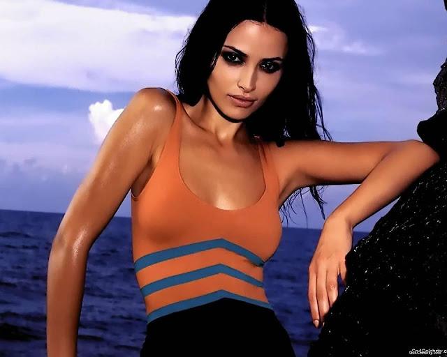 Spanish  Model Almudena Fernandez