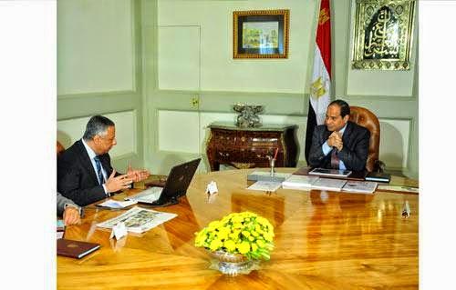 لقاء الرئيس ووزير التربية والتعليم