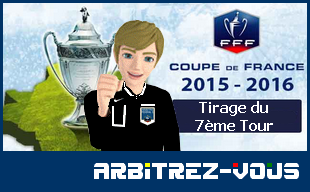 Fff coupe de france tirage au sort du 7 me tour - Tirage au sort coupe de france 7eme tour ...