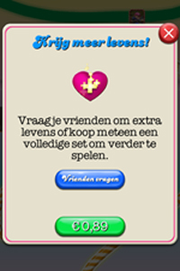 Candy Crush Saga - levens kopen