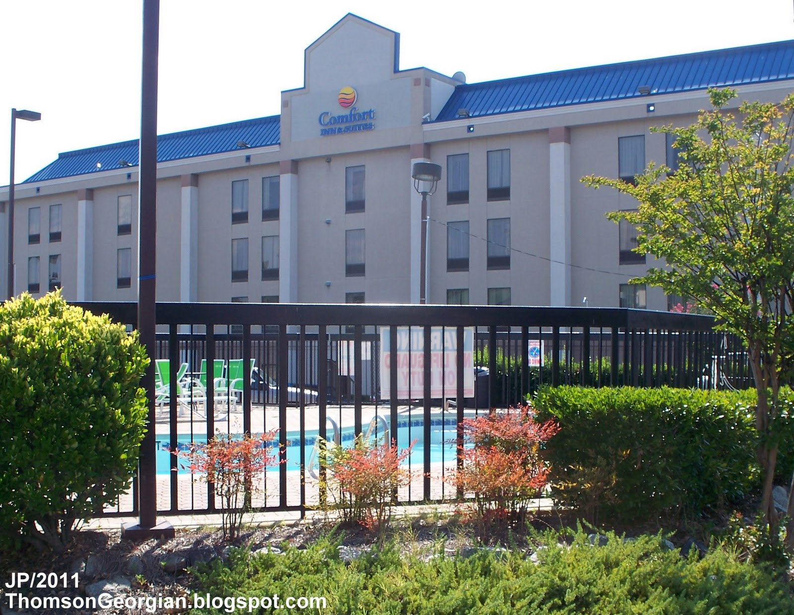Comfort Inn Suites Hotel Thomson Georgia Washington Road Lodging Mcduffie County Ga