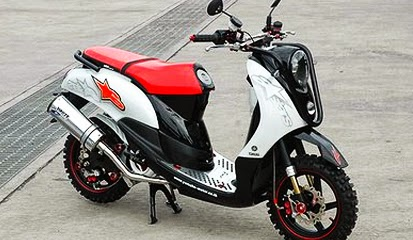 Foto Modifikasi Yamaha Mio Sporty
