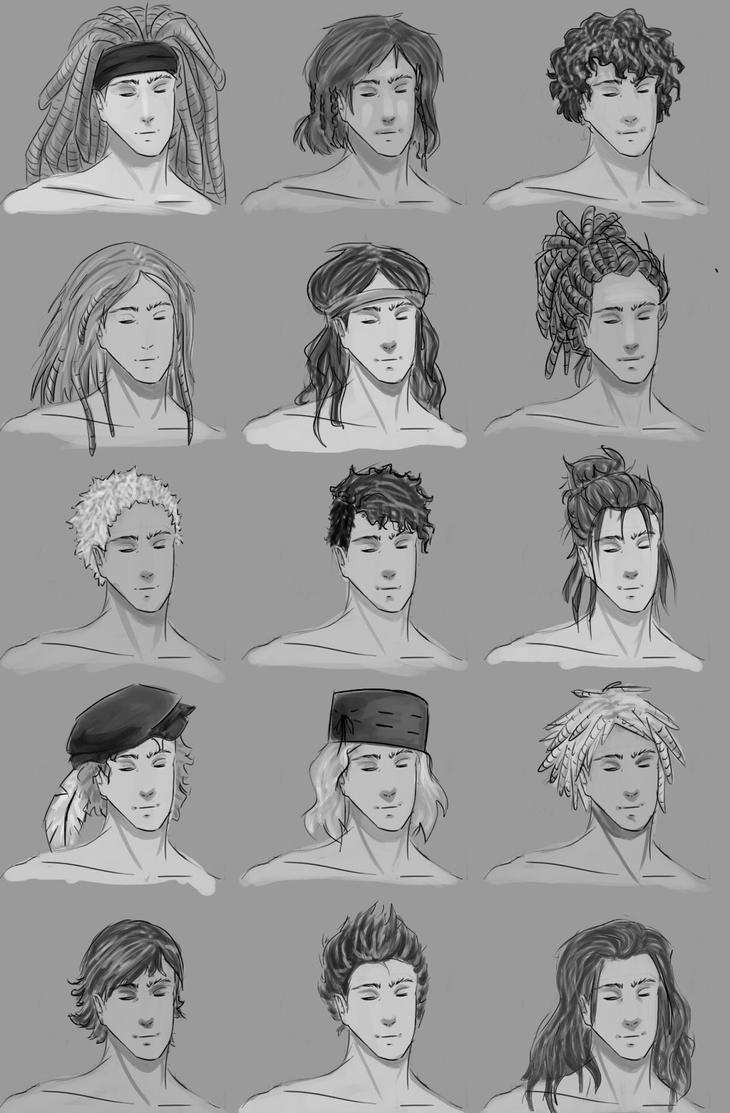 Character Design Hair : Nuca year character concepts stage four