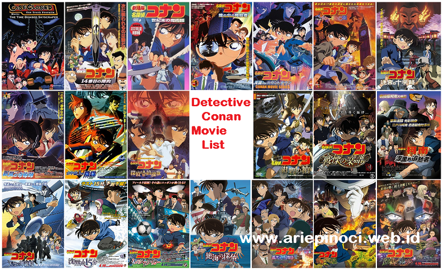 Daftar 20 Detective Conan Movie