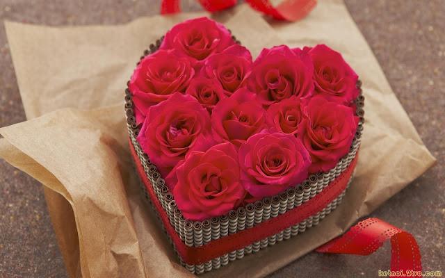 hình nền máy tính tình yêu hoa hồng