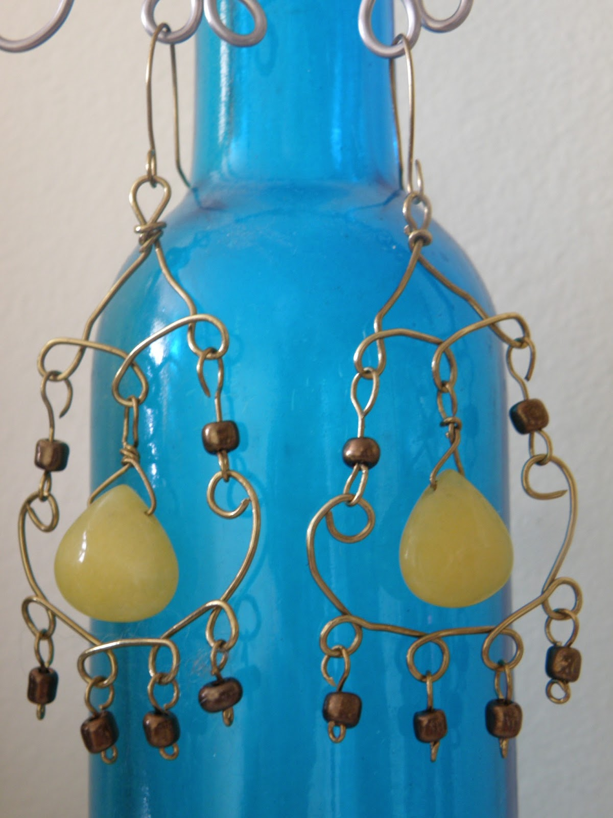 Chandelier earrings hindi style - beauty queens | Handmade jewelry ...