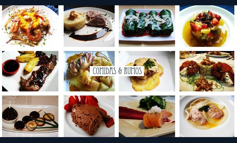 comidas e rumos TESTE
