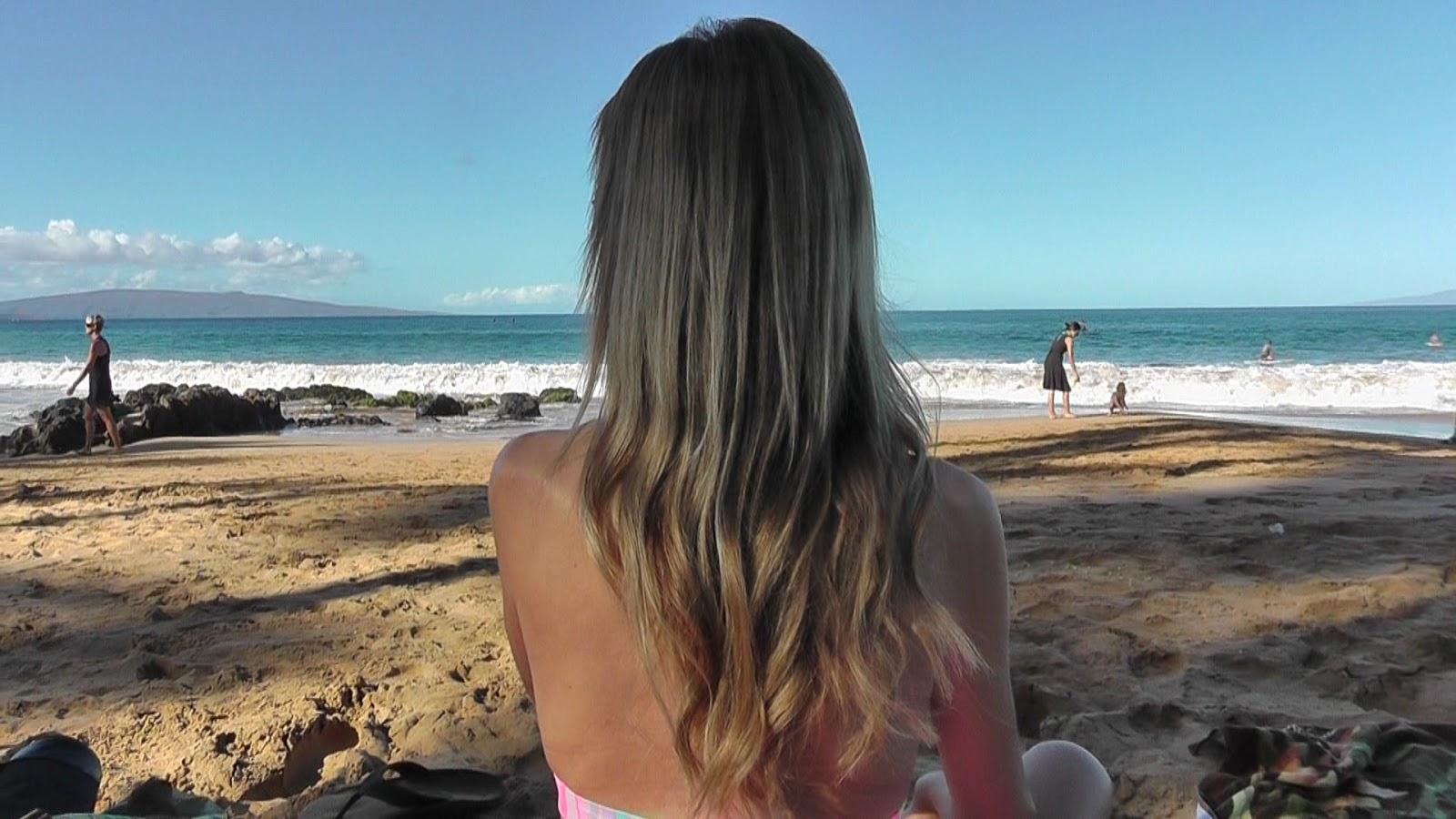 Modern Bohemian Lifestyle Bleached Blonde To Brown Hair