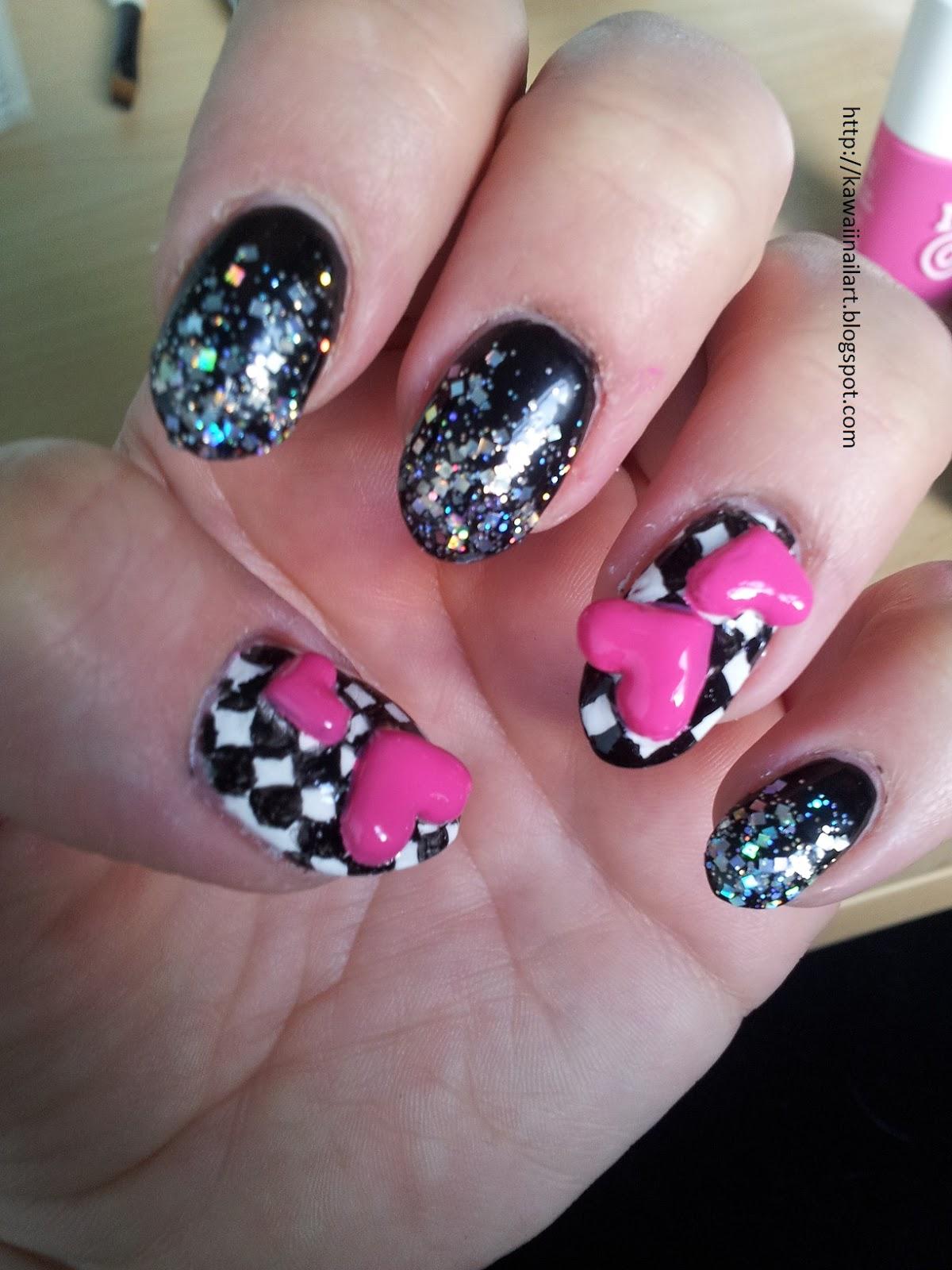 Kawaii Nail Art: 3D nail art