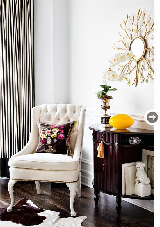 Hogares frescos esta hermosa casa cuenta con una nueva for Decoracion clasica contemporanea