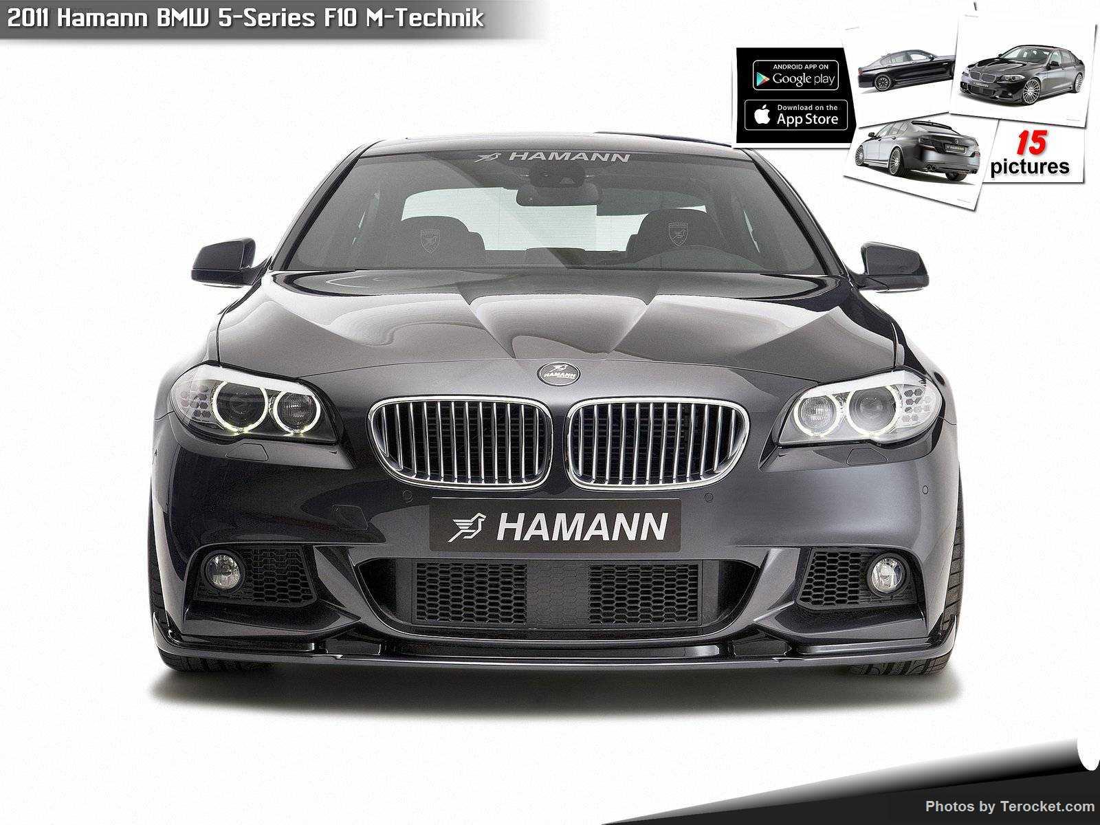 Hình ảnh xe ô tô Hamann BMW 5-Series F10 M-Technik 2011 & nội ngoại thất