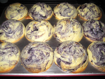 Blueberry muffins without Lemon-Sugar Topping