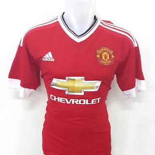 gambar desain terbaru photo kamera Jersey Manchester United home terbaru musim 2015/2016 di enkosa sport toko online jersey bola terpercaya jakarta pasar tanah abang