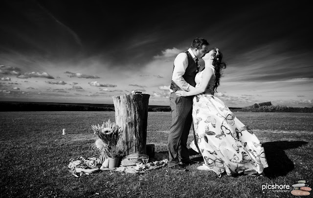 Higher Harlyn Park cornwall wedding Picshore Photography celtic wedding cornwall