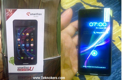 harga smartfren andromax-u, spesifikasi andromax u, fitur dna gambar hp smartfren android terbaru, smartphone dual sim gsm-cdma canggih