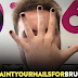 Men Paint Their Fingers/Toes Nails In Support Of Bruce Jenner