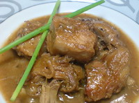 Paksiw Na Lechon (Pork in Liver Sauce)
