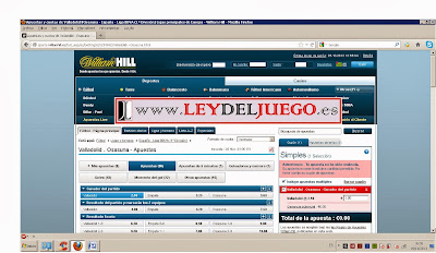 William Hill limitacion