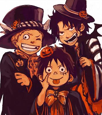 Kumpulan Gambar One Piece Special Halloween
