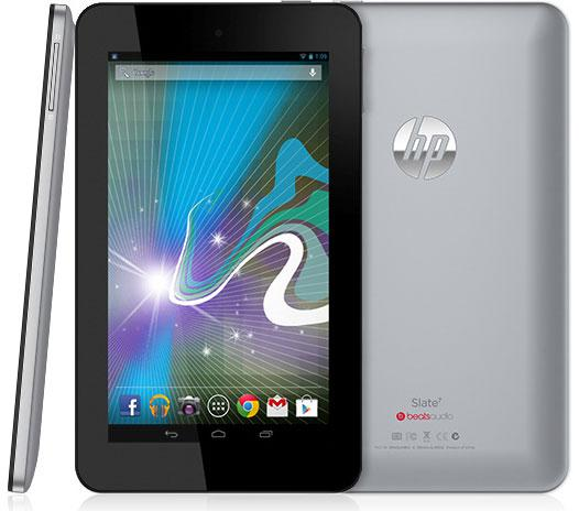 HP Slate 7 - Full tablet specifications/SPECS