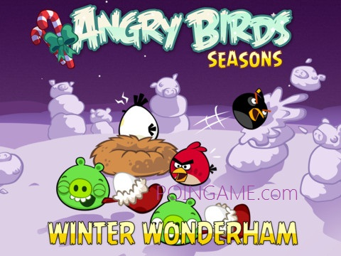 Angry Birds Seasons 3.1.0 Winter Wonderham
